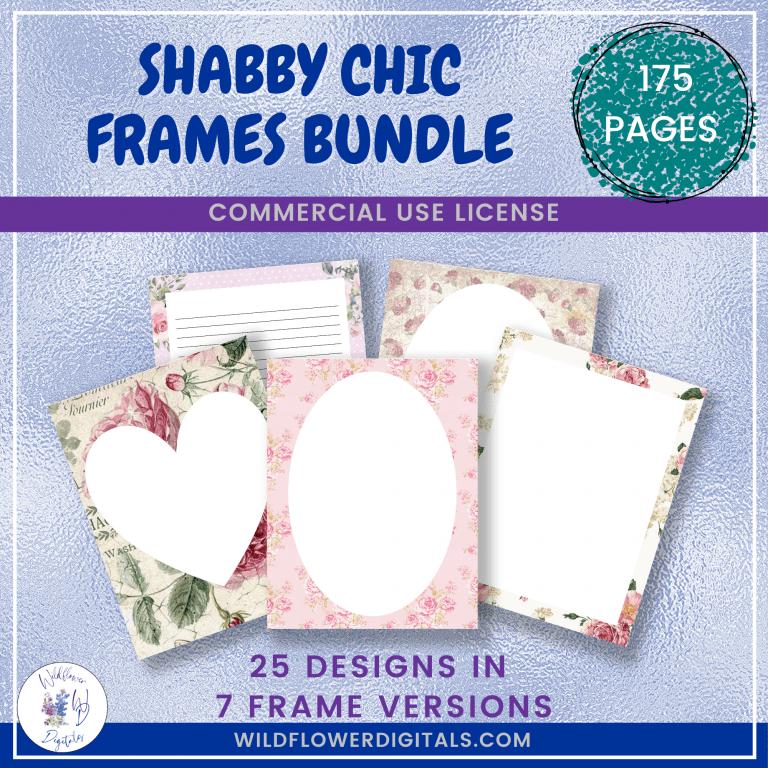 Shabby Chic Frames Bundle